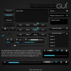 Shaded free UI kit