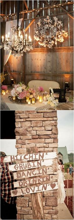 rustic country hay bale wedding decor ideas / http://www.deerpearlflowers.com/country-rustic-wedding-ideas/