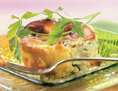 Cheesy Potato Spoon Bread Recipe | Vegetarian Times