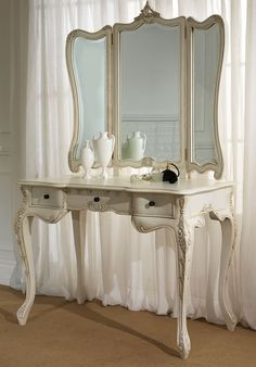 images about vanity tables on Pinterest Large Dressing