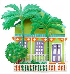 Handcrafted tropical home decor. Metal Art Work – Haitian Metal Art - Beach home decorating - Tropical decorating – Gingerbread housePainted Metal Cottage Wall Hanging - Distinctive Tropical Home Decor - Caribbean decor  #Tropicaldecor  #beachdecor  #tropicalart  #homedecor  #walldecor  #wallart  #metalart  #islanddecor  #wallhanging