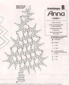 Artesanías de Lourdes: Árbol de Navidad de Crochet Novedoso