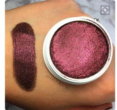 Colourpop eye shadow. It may be the Goth in me but I love burgundy colour eyeshadow.