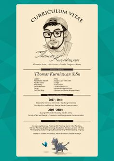 Thomas Kurniawan's Portfolio: My Curriculum Vitae (CV)