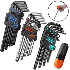 Electrical Hand Tools, Allen Wrench Set, Mini Chainsaw, Bicycle Tools, Hex Wrench, Power Hand Tools, Altoids Tins, Hex Key, Home Tools