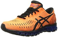ASICS Men's Gel Quantum 360 Running Shoe, Hot Orange/Black/Blue, 12 M US