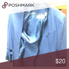 A dark blue jacket,very classy. A navy blue.its very classy and its size medium,12.only wore once,originally 30$ but I'm selling it for 20$!!😀😀 Jackets & Coats Blazers