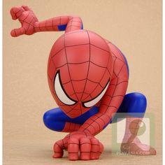 Spiderman vinyl toy