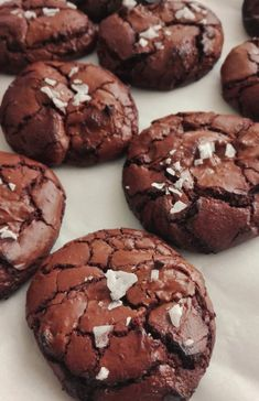 Discover recipes, home ideas, style inspiration and other ideas to try. Vegan Brownie, Brownie Recipes, Cookie Recipes, Dessert Recipes, Martha Stewart Recipes Cookies, Brownie Cookies, Cupcake Cookies, Chocolate Chip Cookies, Beer Cookies