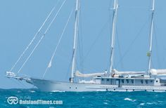 Arabella, 157' mega yacht with accommodations for up to 40 guests. Check out http://arabellavacations.com/