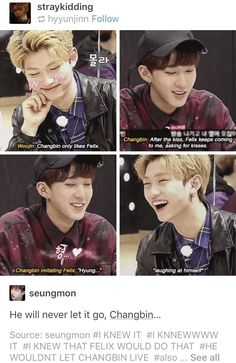 ChangLix is just so cute