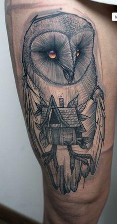 Peter Aurisch, lartiste tatoueur des bas fonds de Berlin. %TheChemistry
