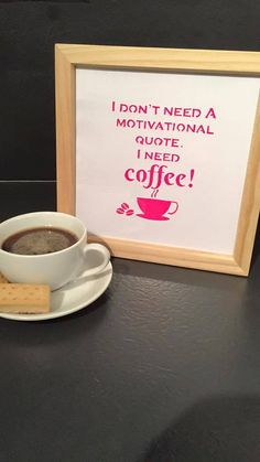 Motivational Coffee Commercial use paper cut template by Purple Unicorn Paper Cuts available to buy from http://www.totallytemplates.co.uk/product/motivational-coffee/