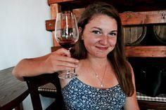 wine tasting in Montalcino, Italy