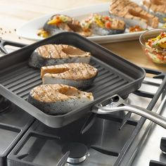 "Calphalon Contemporary Nonstick 11"" Hard-Anodized Aluminum Grill $25.49 (macys.com)"