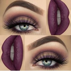 Luv everything about this!  @makeupthang | #makeup