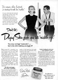 1955 Ponds Dry Skin