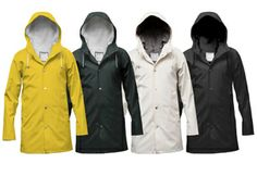 Swedish melancholy at its driest : Stutterheim Raincoats