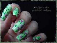 Nail art motif liberty facile et rapide