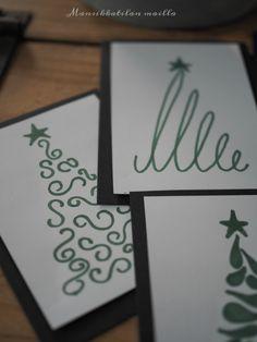 En ollut varsinaisesti ajatellut postata tämän vuoden joulukorteista, mutta Instassa ne saivat aiemmin tällä viikolla sen verran paljon h...