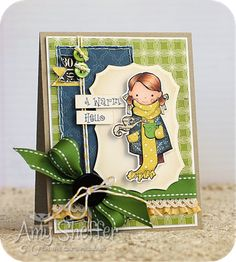 Details! Pickled Paper Designs: A Warm Hello - TCPTues228
