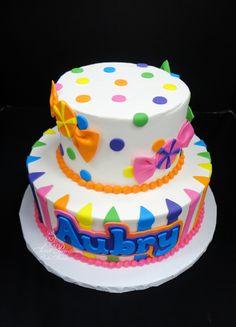 Happy 1st Birthday Brooklyn SweetPerfections cakes Waukesha WI