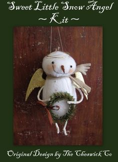 Snow Angel Ornament by cheswickcompany