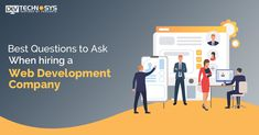 Best questions to ask when hiring a web development company Fun Questions To Ask, This Or That Questions, Work For Hire, Website Development Company, Custom Website, Best Relationship, Programming, Trust, Web Design