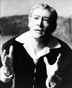 Peter O'Toole as Hamlet, directed by Laurence Olivier, 196