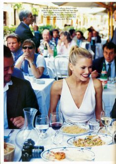 A Roman Holiday with Claudia Schiffer