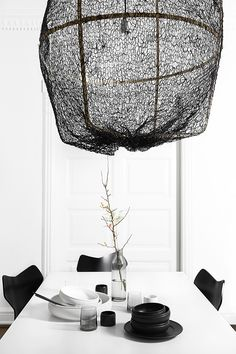 Black and white by Nord styling - via cocolapinedesign.com