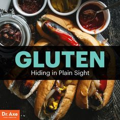 The VERY BEST description of why gluten free is healthier for everyone!  Foods with gluten - Dr. Axe