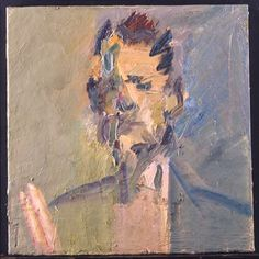 Artist becomes subject in new Tate . Frank Auerbach, Artist Painting, Painting & Drawing, Portrait Art, Portraits, Portrait Paintings, Berlin, Knit Art, Artwork Images