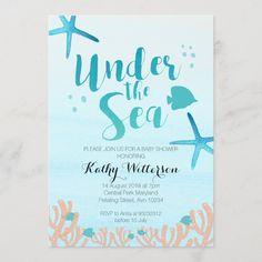 Ocean Baby Showers, Baby Shower Niño, Mermaid Baby Showers, Shower Party, Baby Shower Parties, Baby Shower Gifts, Bridal Shower, Surfer Baby Shower, Beach Shower