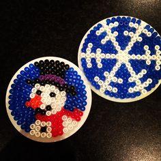 Winter hama beads by lottekris
