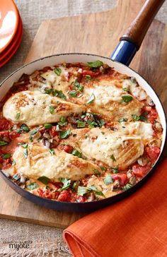 Poêlée de poulet au parmesan - Un plat à l'italienne que vous pouvez préparer en 30min!