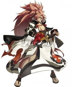 Guilty Gear Xrd Rev Shares First Details And Screenshots For Baiken And Answer - Siliconera Female Character Design, Game Character, Character Concept, Guilty Gear Xrd, Fantasy Characters, Female Characters, Anime Characters, Art Anime, Anime Art Girl