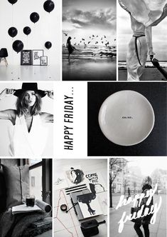 Black and white photography mood board. See more here: http://blog.sampleboard.com/2014/07/18/mood-board-inspiration-its-friday/