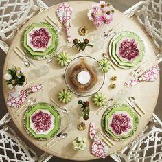 Setting a Stylish Table with Carolina Irving for Oscar de la Renta Home