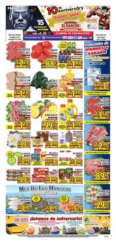 El Rancho Weekly Ad October 12 - 18, 2016 - http://www.olcatalog.com/grocery/el-rancho-weekly-ad.html
