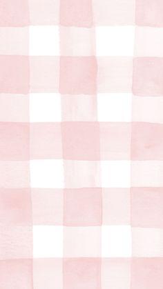 Cute Pastel Wallpaper, Soft Wallpaper, Cute Patterns Wallpaper, Aesthetic Pastel Wallpaper, Kawaii Wallpaper, Aesthetic Wallpapers, Pink Wallpaper Simple, Pink Gingham Wallpaper, Fabric Wallpaper