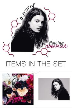 """""""A YEAR OF FLOWING DOPAMINE"""" by glowing-eyes ❤ liked on Polyvore featuring art"""