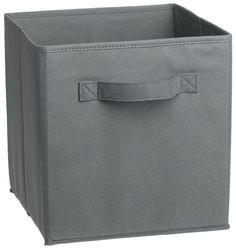 Amazon.com - ClosetMaid 8657 Fabric Drawer, Gray - Closet Storage And Organization System Drawers
