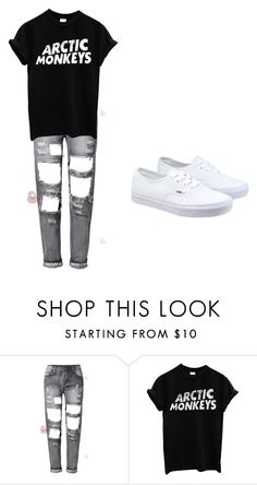 """Artic Monkeys!"" by paigebrite on Polyvore featuring Vans, women's clothing, women's fashion, women, female, woman, misses and juniors"