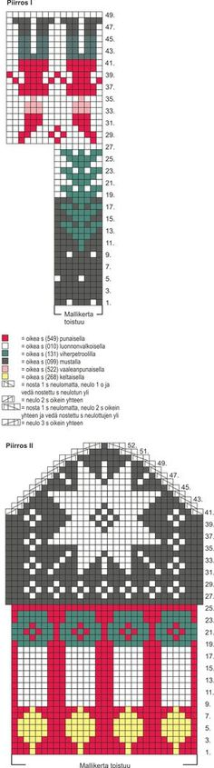 Neulotut kynttiläsukat Novita 7 Veljestä | Novita knits