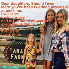 Dear Daughters! www.livhealthybaby.com #daughters #livhealthybaby #babyfood #organicbabyfood #organic #health