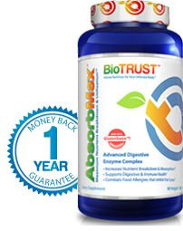 Stop Holiday Weight increase : BioTrust AbsorbMax Digestive Enzyme FIFTY % OFF for Black Friday
