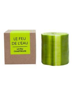Le Feu de L'Eau Chartreuse Soy Candle