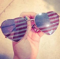 sunglasses <3 not one for the American flag but these are cool