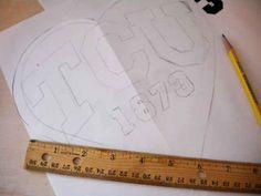 DIY Screen Print Tee: Step 1